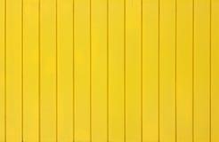 Priorità bassa di legno gialla Fotografia Stock Libera da Diritti