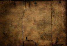 Priorità bassa di legno incrinata per il disegno Fotografie Stock Libere da Diritti