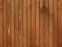 Priorità bassa di legno marrone Fotografia Stock
