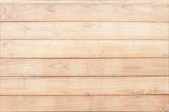 Priorità bassa di legno marrone chiaro Fotografie Stock