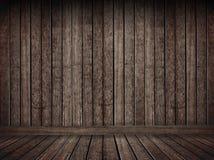 Priorità bassa di legno marrone di Grunge Fotografia Stock Libera da Diritti