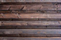 Priorità bassa di legno naturale Schede del Brown Rete fissa di legno Fotografia Stock Libera da Diritti