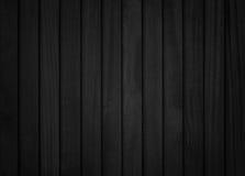 Priorità bassa di legno nera Fotografia Stock Libera da Diritti