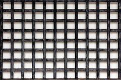 Priorità bassa di legno quadrata della parete Immagine Stock Libera da Diritti