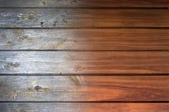 Priorità bassa di legno ripristinata Fotografia Stock