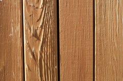 Priorità bassa di legno rossa verticale Fotografia Stock