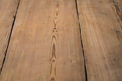 Priorità bassa di legno rustica Vecchio legno planked naturale reale d'annata spazio del testo Fuoco selettivo fotografia stock libera da diritti