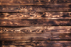 Priorità bassa di legno scura Fotografie Stock Libere da Diritti