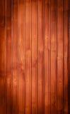 Priorità bassa di legno scura del Brown, reticolo verticale Immagini Stock