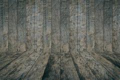 Priorità bassa di legno scura di struttura Immagine Stock