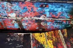 Priorità bassa di legno variopinta Fotografia Stock Libera da Diritti