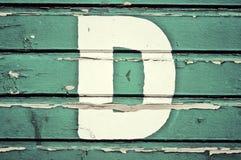 Priorità bassa di legno verde Fotografia Stock Libera da Diritti