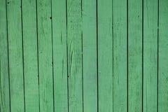 Priorità bassa di legno verde Fotografie Stock Libere da Diritti