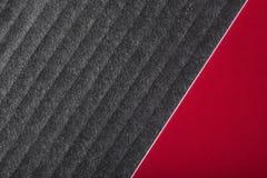 Priorità bassa di lusso nera e rossa Fotografia Stock