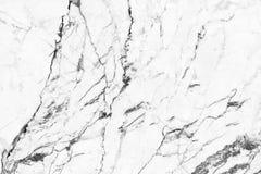 Priorità bassa di marmo bianca di struttura Fotografia Stock