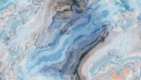 Priorità bassa di marmo blu royalty illustrazione gratis