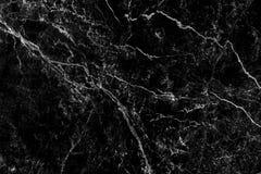Priorità bassa di marmo nera Fotografia Stock