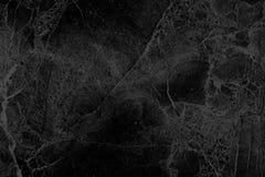 Priorità bassa di marmo nera Fotografie Stock Libere da Diritti