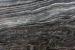 Priorità bassa di marmo nera di struttura Fotografia Stock Libera da Diritti