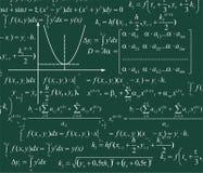 Priorità bassa di matematica illustrazione vettoriale