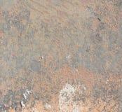 Priorità bassa di metallo arrugginito Fotografie Stock Libere da Diritti