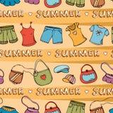 Priorità bassa di modo di estate illustrazione vettoriale