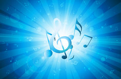 Priorità bassa di musica illustrazione vettoriale