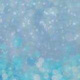 Priorità bassa di natale Cielo, fiocchi di neve e stelle di inverno Fotografia Stock