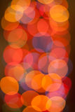 Priorità bassa di natale Fondo astratto festivo con le luci e le stelle defocused del bokeh fotografia stock