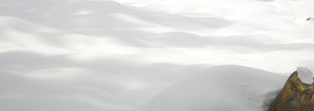 Priorità bassa di neve fresca Immagini Stock