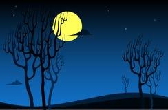 Priorità bassa di notte Immagini Stock Libere da Diritti