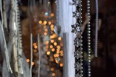 Priorità bassa di nuovo anno Fotografie Stock Libere da Diritti
