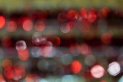 Priorità bassa di nuovo anno Astrazione vaga dei colori luminosi fotografia stock