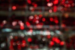 Priorità bassa di nuovo anno Astrazione vaga dei colori luminosi fotografia stock libera da diritti