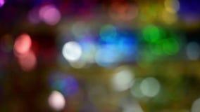 Priorità bassa di nuovo anno Astrazione vaga dei colori luminosi video d archivio