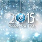 Priorità bassa di nuovo anno felice Fotografie Stock