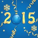 Priorità bassa di nuovo anno felice Immagine Stock