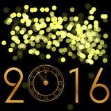 Priorità bassa di nuovo anno felice Immagini Stock Libere da Diritti