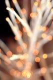Priorità bassa di nuovo anno, luce rossa Fotografia Stock