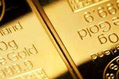 Priorità bassa di oro fine Immagine Stock