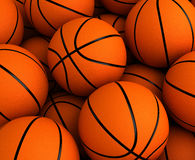 Priorità bassa di pallacanestro Fotografie Stock