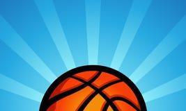 Priorità bassa di pallacanestro Immagini Stock Libere da Diritti