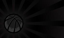 Priorità bassa di pallacanestro Immagini Stock