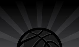 Priorità bassa di pallacanestro Fotografie Stock Libere da Diritti