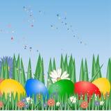 Priorità bassa di Pasqua, Fotografia Stock