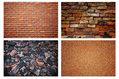 Priorità bassa di pietra del muro di mattoni Fotografia Stock