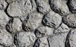 Priorità bassa di pietra grigia Fotografie Stock