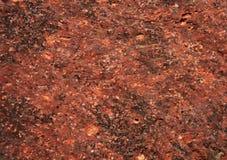 Priorità bassa di pietra rossa Immagine Stock