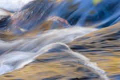 Priorità bassa di riflessioni dell'acqua Fotografie Stock Libere da Diritti
