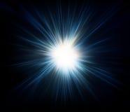 Priorità bassa di scoppio della stella Fotografia Stock Libera da Diritti